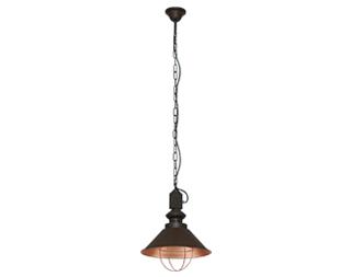 Lampa wisząca Nowodvorski Loft I 60W E27 czekoladowa 5057