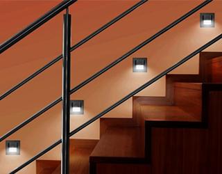 Jak wybrać oświetlenie schodowe?