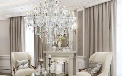 Luksusowe i eleganckie wnętrza, czyli styl art deco w roli głównej