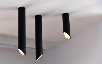 Punktowe lampy sufitowe, czyli spoty i tuby