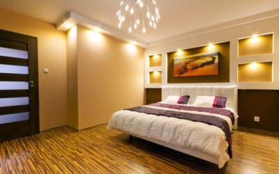 3 porady dotyczące oświetlenia sypialni